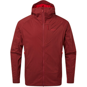 Rab VR Summit Jacket Men, oxblood red